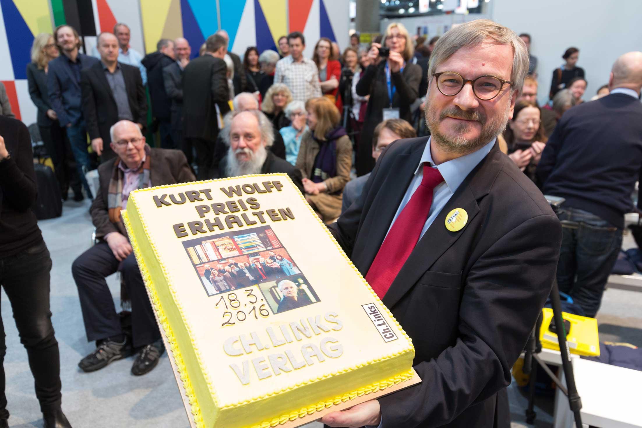 Torte und Preisträger