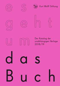 Coverabbildung Es geht um das Buch 2018 / 19